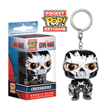 Captain America Civil War Pocket POP! Vinyl Schlüsselanhänger Crossbones 4 cm