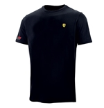 T-Shirt Ferrari in schwarz