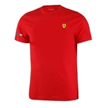 T-Shirt Ferrari in rot