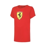 T-Shirt Ferrari in rot fur Kinder