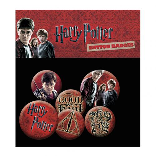 Broschen Harry Potter Set