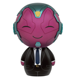 Captain America Civil War Dorbz Vinyl Figur Vision in Suit 8 cm