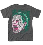 T-Shirt Suicide Squad Joker Tattooed Face