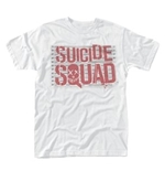 T-Shirt Suicide Squad Logo Line Up