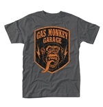 T-Shirt Gas Monkey Garage - Shield