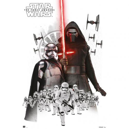 Poster Star Wars The Force Awakens Empire 207