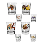 Glas Superhelden DC Comics 223498