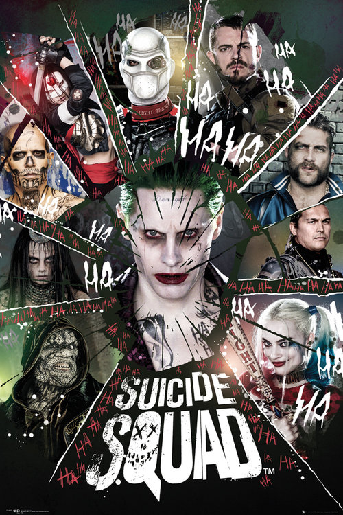 Poster Suicide Squad Circle