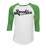 T-Shirt Brooklyn Brewery  3/4 Armel Basketball - Mann
