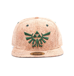The Legend of Zelda Snap Back Cap Triforce Logo Cork