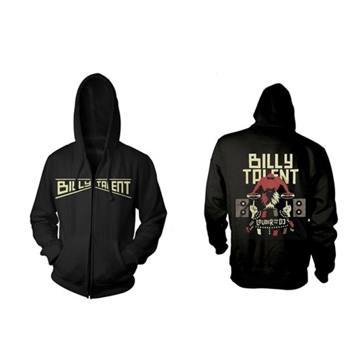 T-Shirt Billy Talent  Louder Than The Dj Black