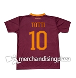 Trikot As Roma 2016/17 Home Totti 10 Replik