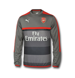 Sweatshirt Arsenal 2016-2017 (Grau)