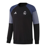 Sweatshirt Real Madrid 2016-2017 (Schwarz)