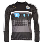 Sweatshirt Newcastle United 2016-2017 (Schwarz)