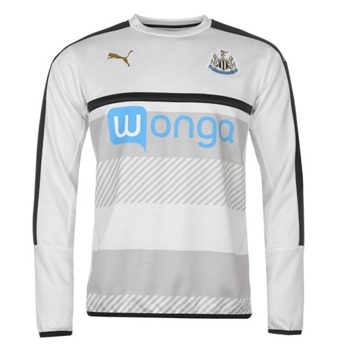Sweatshirt Newcastle United 2016-2017 (Weiss)