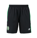 Shorts Celtic 2016-2017 (Schwarz)