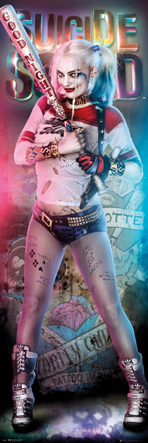 Poster Suicide Squad Harly Quinn