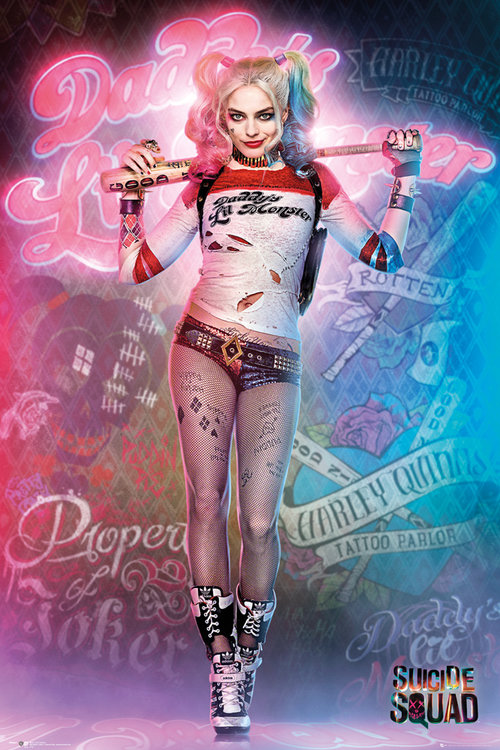 Poster Suicide Squad Harley Quinn.