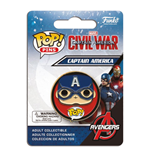 Captain America Civil War POP! Pins Ansteck-Button Captain America