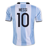 Trikot Argentinien Fussball 2016-2017 Home (Messi 10)