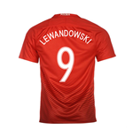 Trikot Polen Fussball 2016-2017 Away (Lewandowski 9)