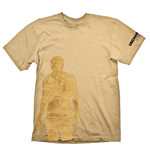 T-Shirt Uncharted 4: Thief's end Nethan Drake Map - S