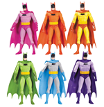 Batman Actionfiguren 6er-Pack Rainbow 17 cm