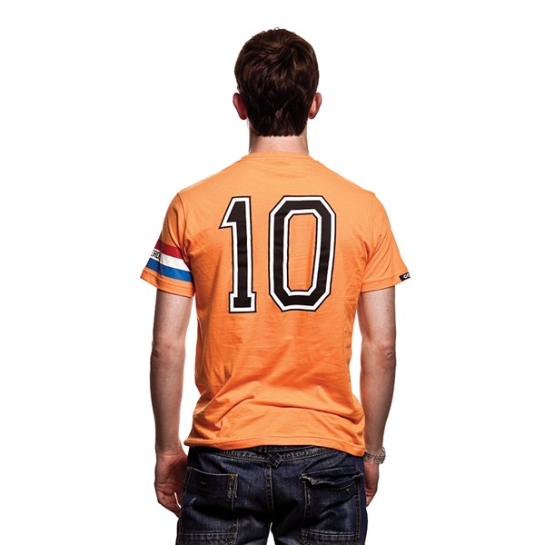 T-Shirt Holland Fussball Kapitän