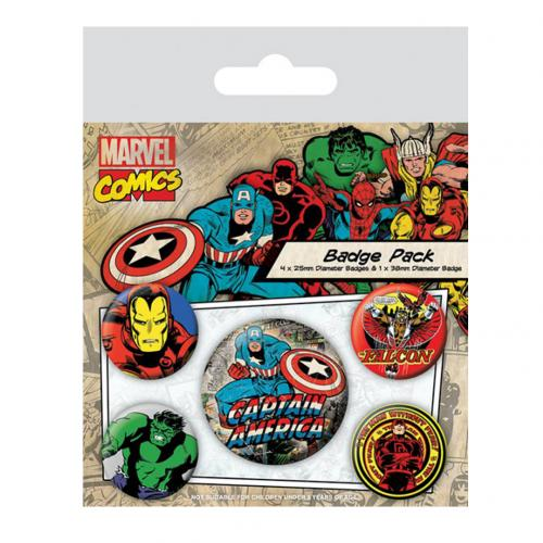 Brosche Marvel Superheroes 228994