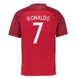 Trikot Portugal Fussball 2016-2017 Home (Ronaldo 7)