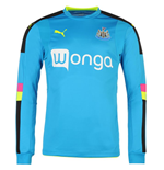 Longsleeve Trikot Newcastle 2016-2017 Away (Blau)