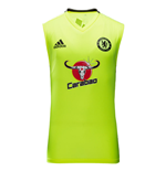 Trainings T-Shirt Chelsea 2016-2017 (Gelb)