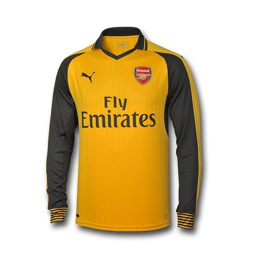 Longsleeve Trikot Arsenal 2016-2017 Away