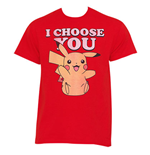T-Shirt Pokémon Pikachu I Choose You