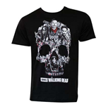 T-Shirt Der wandelnde Leichnam. The Walking Dead Skull Logo