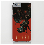 Alien iPhone 6 Schutzhülle Xenomorph Upside-Down