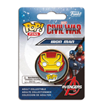 Captain America Civil War POP! Pins Ansteck-Button Iron Man