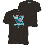 T-Shirt Star Wars  Lando Rock Poster