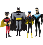 The New Batman Adventures Biegefiguren 4er-Pack Masked Heroes 14 cm