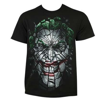 T-Shirt Joker Shattered Face