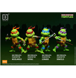 Teenage Mutant Ninja Turtles Mini Hybrid Metal Actionfiguren 4-er Pack 7 cm