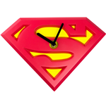 Superman Wanduhr mit Wackel-Effekt Swinging Logo