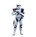 Star Wars Episode VII Movie Masterpiece Actionfigur 1/6 First Order Stormtrooper Officer 30 cm