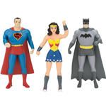 Justice League Biegefiguren 3er-Pack 7 cm