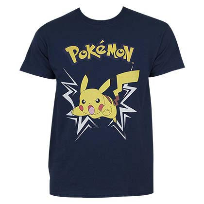 T-Shirt Pokémon  Pikachu Charging Up