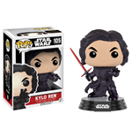 Star Wars Episode VII POP! Vinyl Wackelkopf-Figur Kylo Ren (Battle Pose) 9 cm