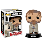 Star Wars Episode VII POP! Vinyl Wackelkopf-Figur Luke Skywalker (Bearded) 9 cm