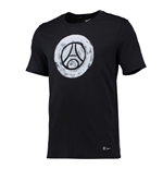 T-Shirt Paris Saint-Germain 2016-2017 (Schwarz)