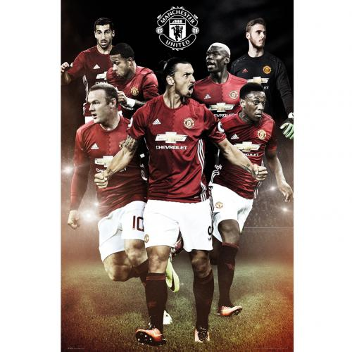 Poster Manchester United FC 234224